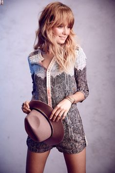 Esme Laced #Romper #Anthropologie #CynthiaVincent