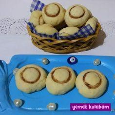 TARİF : Nişastalı Mantar Kurabiye  #nişasta #nişastalı #kolay #pratik #tereyağı #yumurta #vanilya #kakao #kakaolu #cocoa #pudraşekeri #vejetaryen #kurabiye #kurabiyetarifleri #kurabiyetarifi