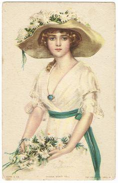 Penrhyn Stanlaws, 1910spostcard