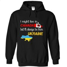 Ukraine-Canada - #retro t shirts #women hoodies. SIMILAR ITEMS => https://www.sunfrog.com/LifeStyle/Ukraine-Canada-nvmtq-Black-Hoodie.html?60505