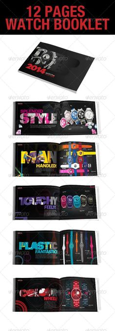 12 Page InDesign Watch Booklet #GraphicRiver 12 Page InDesign Watch Booklet Elegant 12 pages Watch Booklet that can fit your needs, be it a watch company, agency etc. Size: 19×13.4 cms Worked in: InDesign CS5 Included in the zip file you will also find an InDesign CS4 (Idml). Fonts used: helvetica neue font family crossgraphicideas.wordpress /2012/08/14/helvetica-neue-font-free-download-complete-family/ No borrowed or copied design, photos, images, style, brushes, filters, textures…