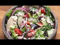 Eat Healthy With This Delicious Mediterranean Salad