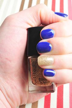 Stay true to you in blue! Pedicures, Manicure And Pedicure, Stay True, Be True To Yourself, Class Ring, Heart Ring, Nail Art, People, Blue