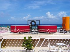 Roof top pool Hotel Basico Playa Del Carmen