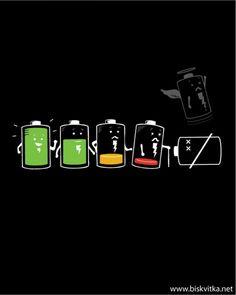 La vida de la batería.