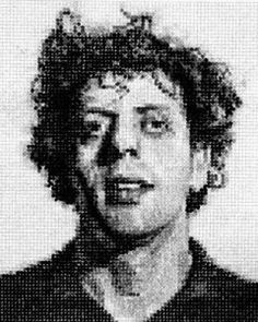 phillip glass by chuck close