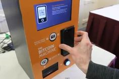 Bitcoin ATM Changes Cash Into Digital Currency Bitcoin Mining Software, Bitcoin Mining Rigs, What Is Bitcoin Mining, Bitcoin Definition, Bitcoin Accepted, Future Gadgets, Bitcoin Transaction, Internet, Buy Bitcoin