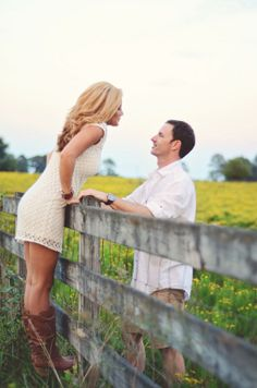 Gorgeous outdoor farm and fruit orchard engagement shoot | Done Brilliantly Stephie Hicks Photography :)