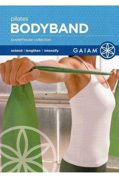 (This is an affiliate pin) Gaiam Pilates BODYBAND ~ Powerhouse Collection Benefits Of Strength Training, Pilates Clothes, Pilates Workout, Pilates Mat, Resistance Workout, Plyometrics, Live Fit, Live Happy, Regular Exercise