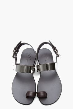 GIUSEPPE ZANOTTI Chocolate brown and silver plated Zak 10 sandals Gladiator Boots, Wedge Boots, Shoe Boots, Men Accesories, Shoes 2015, Giuseppe Zanotti Heels, Male Fashion Trends, Fashion Shoes, Zapatos