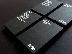The Simplicity and Elegance of Black & White Business Cards | Abduzeedo Design Inspiration & Tutorials