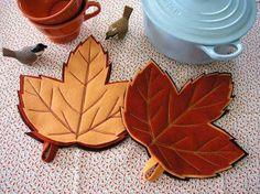Leaf pot holder