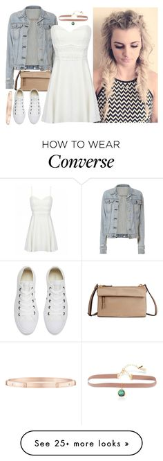 """♥"" by hitshannahbananah on Polyvore featuring Tumi, rag & bone, Converse, Harry Winston and Lonna & Lilly"
