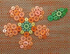 button fleur :)