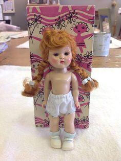 1954 REDHEAD GINNY Undressed Walking Doll – NO RESERVE  #Dolls