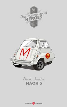 Unconventional Heroes | Illustrator: Gerald Bear #mach5