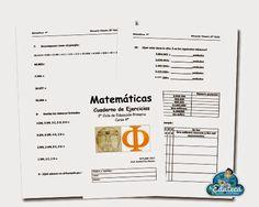 RECURSOS PRIMARIA   Cuadernillo de actividades de Matemáticas para 4º de Primaria