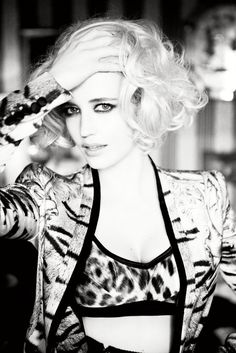 Eva Green, photographed by Ellen von Unwerth