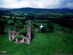 Abandoned Mansion Near Kilgarvan, Ireland, nature-reclaiming-abandoned-places Places Around The World, Oh The Places You'll Go, Places To Visit, Around The Worlds, Bangkok, Abandoned Castles, Abandoned Places, Dame Nature, Nature Nature