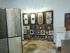 Our Medallion Display in the back of the showroom