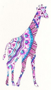 giraffe silhouette inspiration for appliqué I WOULD LOVE THIS FOR A TATTOO