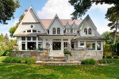 24 mejores im genes de casas americanas american houses dream homes y home decor - Casas de madera y mas com ...