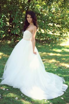 Tulle Wedding Skirt Tulle Ballgown by PureMagnoliaCouture on Etsy