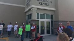 CAIR disrupts anti-Shariah speakers at Oakland Community Center in Oakland, Iowa, on Thursday, Sept. 14, 2017