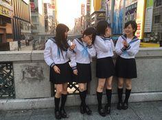 Mirurun, Sayanee, Yuuri and Riripon #NMB48 #AKB48