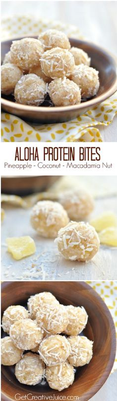 Aloha Protein Bites - Fun-Filled St. Patrick's Day Free Printables | GleamItUp