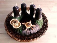 Az első saját koszorúm / My first DIY Advent wreath (2011)