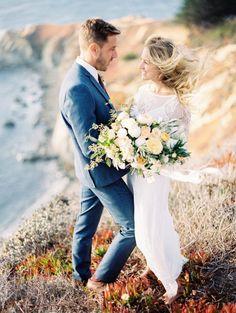 Romantic & Intimate Big Sur Elopement via Magnolia Rouge