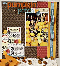 The Pumpkin Patch by Michelle Lanning for Elle's Studio