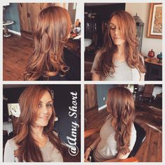 #Copper #Balayage #highlights by Amy Short
