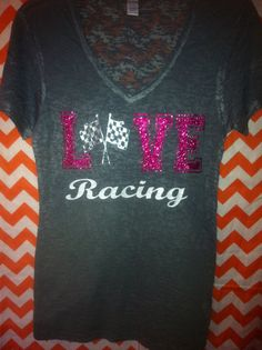 Hey, I found this really awesome Etsy listing at http://www.etsy.com/listing/126040895/love-racing