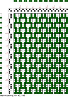 draft image: Figure 114 (a), A Manual of Weave Construction, Ivo Kastanek, 2S, 2T