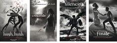Hush Hush es una saga de thriller, romance y comedia en partes iguales (y un toque sexy que la hace inigualable). ¡No podéis dejar de leerla! Hush Hush te intriga y seduce a la vez. Nora te pondrá de los nervios. Vee te hará reír a carcajadas. Y Patch…(❤ suspiro ❤)…él te robará el corazón más profundamente que Edward Cullen cuando tenías 13 años.