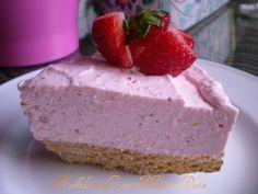 Cheesecake alle fragole,ricetta senza cottura