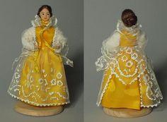 Polish Folk Costume Doll from Zywiec, Poland -