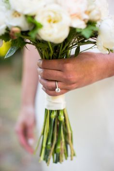 Classic round solitaire engagement ring | Photography: Janae Shields Photography - janaeshields.com  Read More: http://www.stylemepretty.com/california-weddings/2014/05/02/rustic-dawn-ranch-wedding/