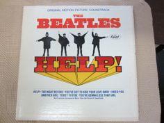 Beatles, The - Help! (Original Motion Picture Soundtrack) at Discogs Rock N Roll, Pop Rock, Abbey Road, Ringo Starr, George Harrison, Lp Cover, Cover Art, Paul Mccartney, John Lennon