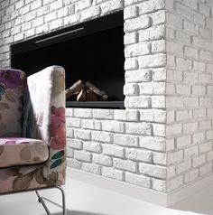 Dizajnérska vychytávka - biela tehla v interiéri | Living Styles