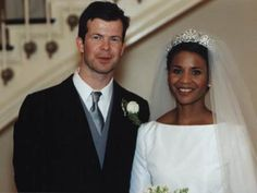 Princess Angela of Liechtenstein is the first and only black princess in reigning European monarchy. I think this should have gotten much more media attention, the first royal interracial marriage is something that should have been celebrated!