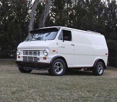 """old custom ford vans   Vintage '70s Ford E100 Van, """"Shaggin Wagon"""", Hot Rod, Custom, Short ..."""