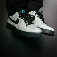 ... Nike Air Force 1 Low – Black – Shiny Silver – Green Glow. adidas  springblade pro sky blue red ... 33d83bb42f