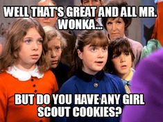 You need cookie memes? We got cookie memes! Girl Scout Cookie Meme, Girl Scout Cookie Sales, Girl Scout Cookies, Girl Scout Leader, Girl Scout Troop, Boy Scouts, Scout Mom, Daisy Girl Scouts, Toddler Girl Outfits