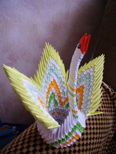 Gallery.ru / Пава - Модульное оригами - valentina76