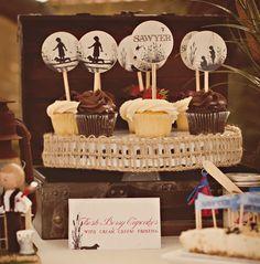 Tom Sawyer & Huckleberry Finn Inspired 1st Birthday