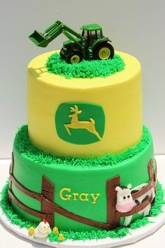 john deere baby shower cakes and ideas | John Deere cake#Repin By:Pinterest++ for iPad#