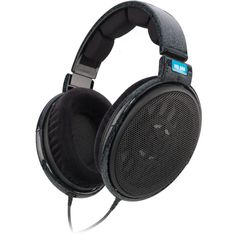 Sennheiser HD 600 - Audio Headphones High-end Surround sound - Stereo, HiFi - Hubs has a set of these and I'll steal them when he's not looking. These babies are like nothing else.